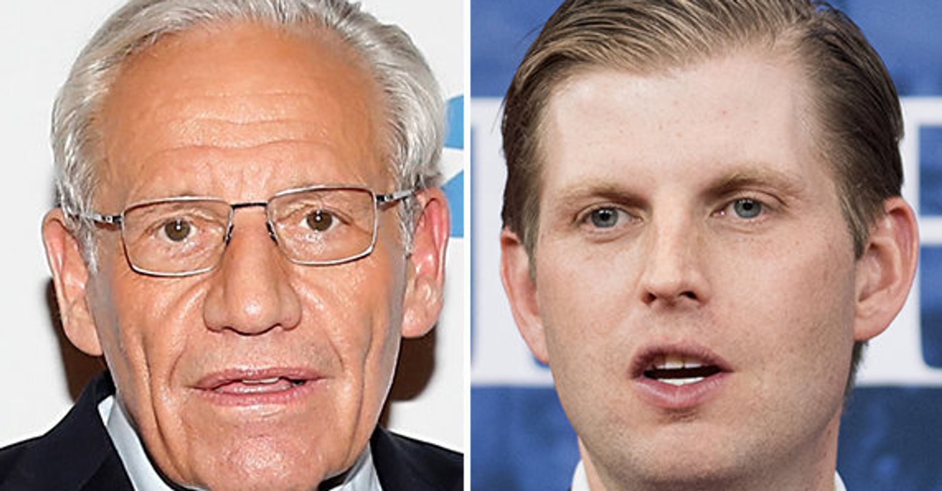 Bob Woodward Fires Back At Eric Trump Over 'Anti-Semitic' Slur