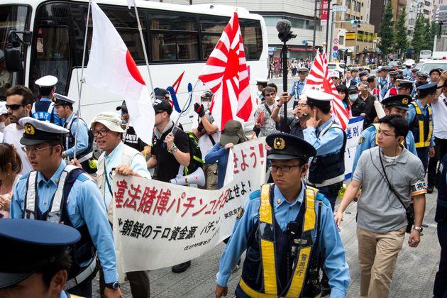 일본 도쿄도가 혐한시위 참가자 실명 공개 등 '헤이트 스피치 억제' 조례