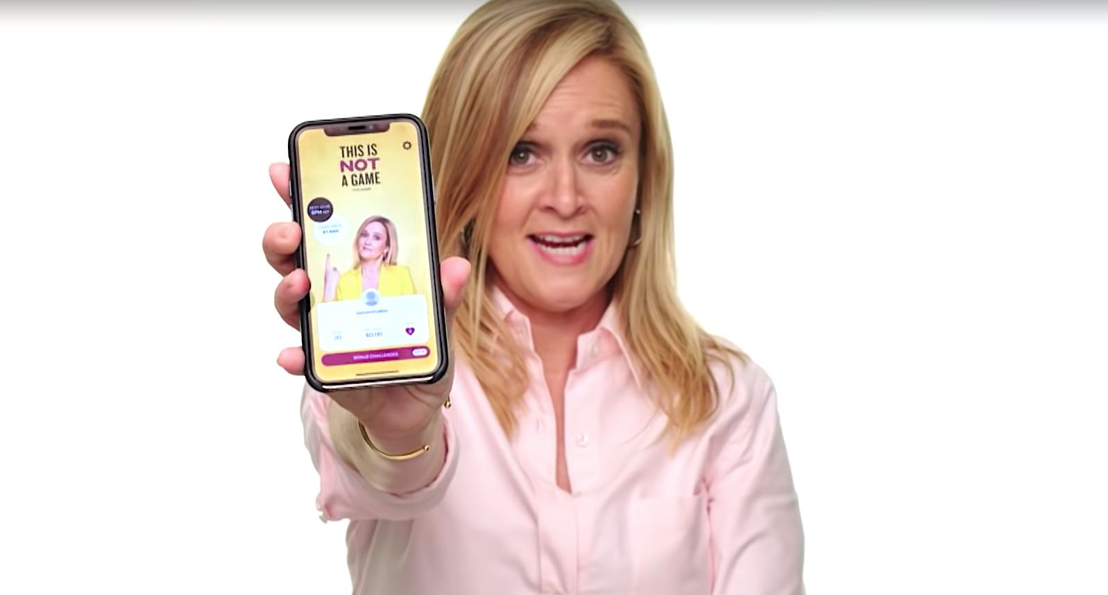 Samantha Bee's Voter Turnout Game App Was Way Too Popular For Its Own