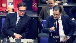AfD verbreitet im Bundestag Verschwörungstheorien – die Antwort eines Grünen ist