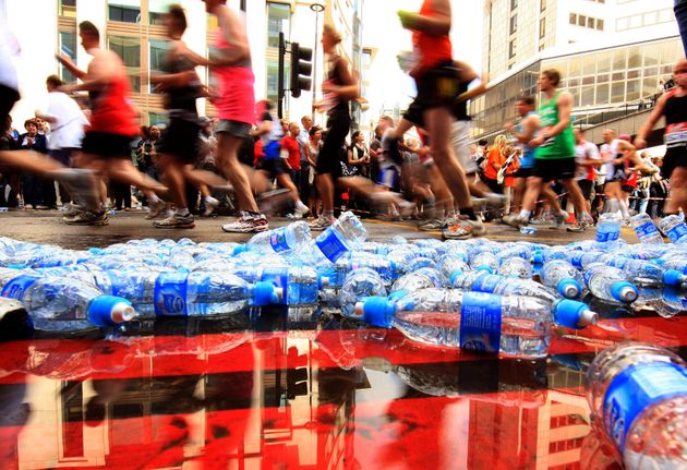This Half-Marathon Has Banned Plastic Bottles, Replacing Them With Water Pouches Made From