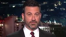 Jimmy Kimmel Uses Donald Trump's Words About Hiring U.S. Workers Against Him