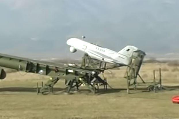 Πτώση μη επανδρωμένου αεροσκάφους του στρατού στη