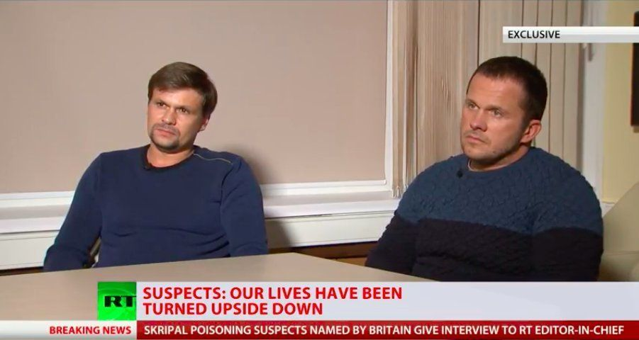Russians Accused In Novichok Scandal Say They Were In Salisbury As