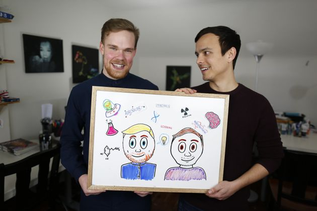 How Mitch And Greg Of AsapSCIENCE Are Inspiring Young Queer People