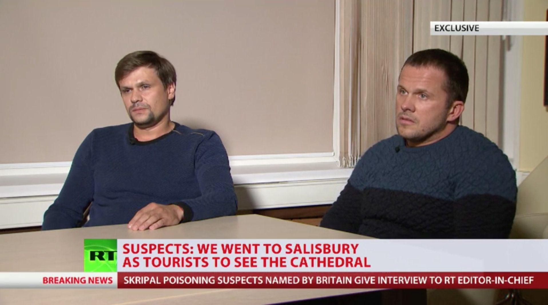7 Totally Normal Things About RT's Totally Normal Novichok Suspects