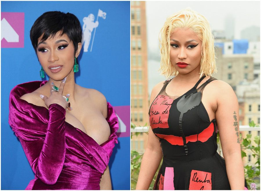 Cardi B Disputes Nicki Minaj's Claims She Paid For Her