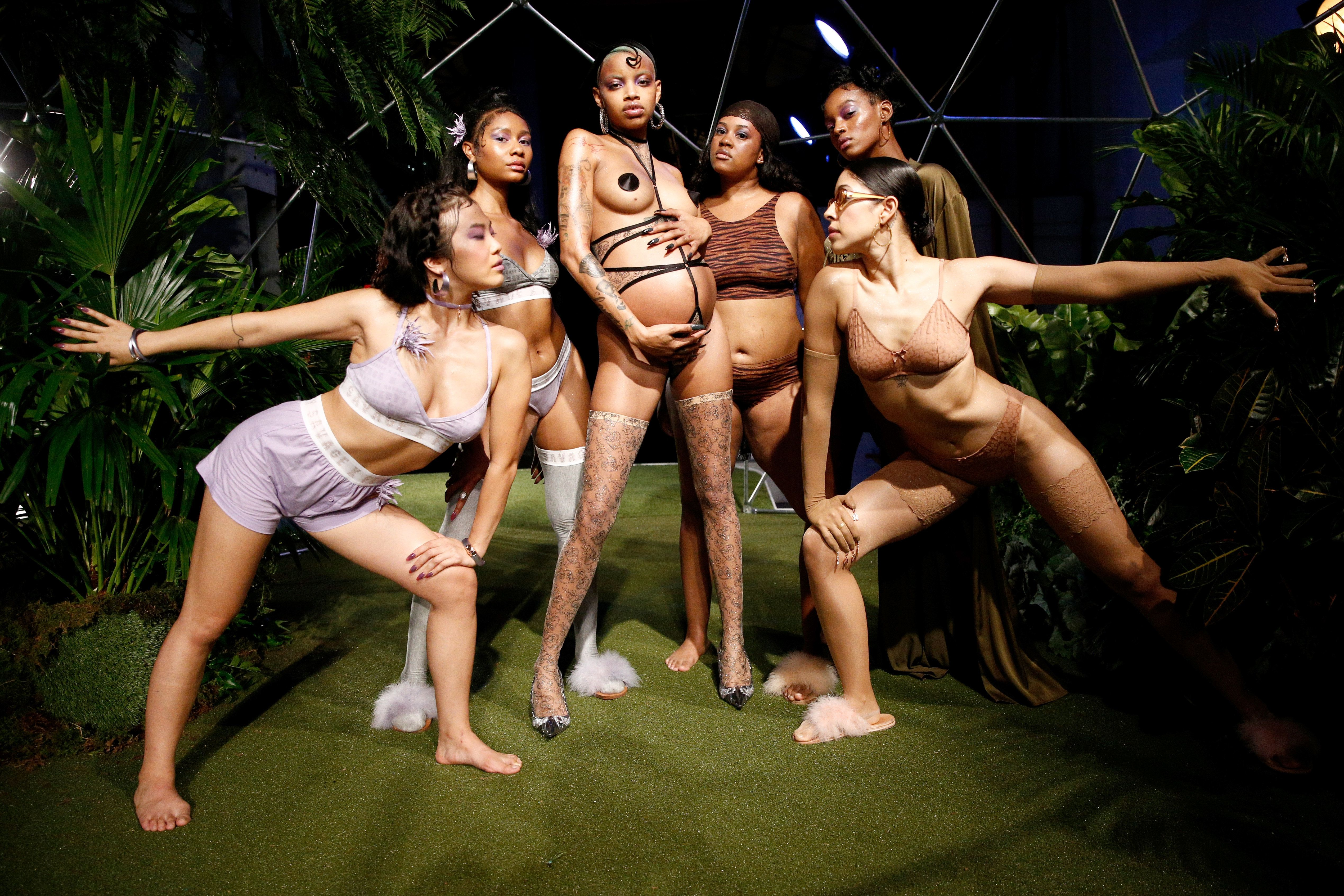 Rihanna's Savage X Fenty Lingerie Show Was A Celebration Of Diversity