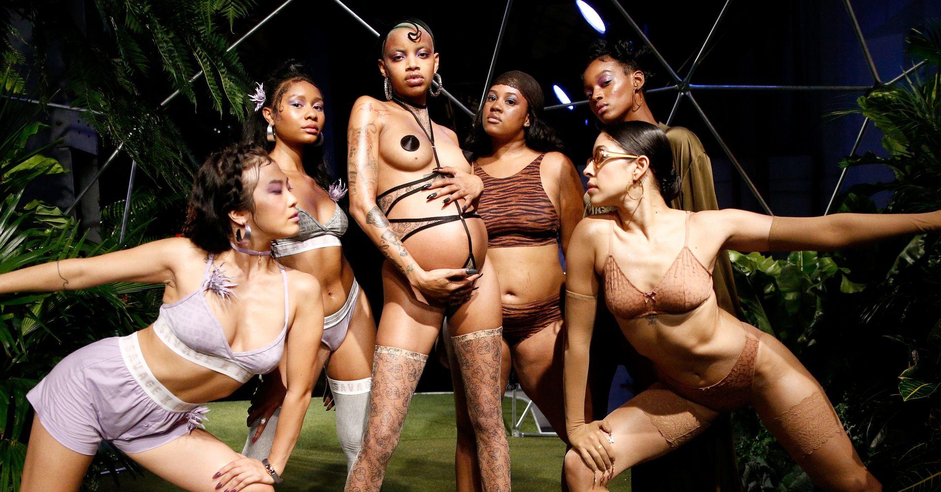e63287b11b0e7 Rihanna s Savage X Fenty Lingerie Show Was A Celebration Of Diversity