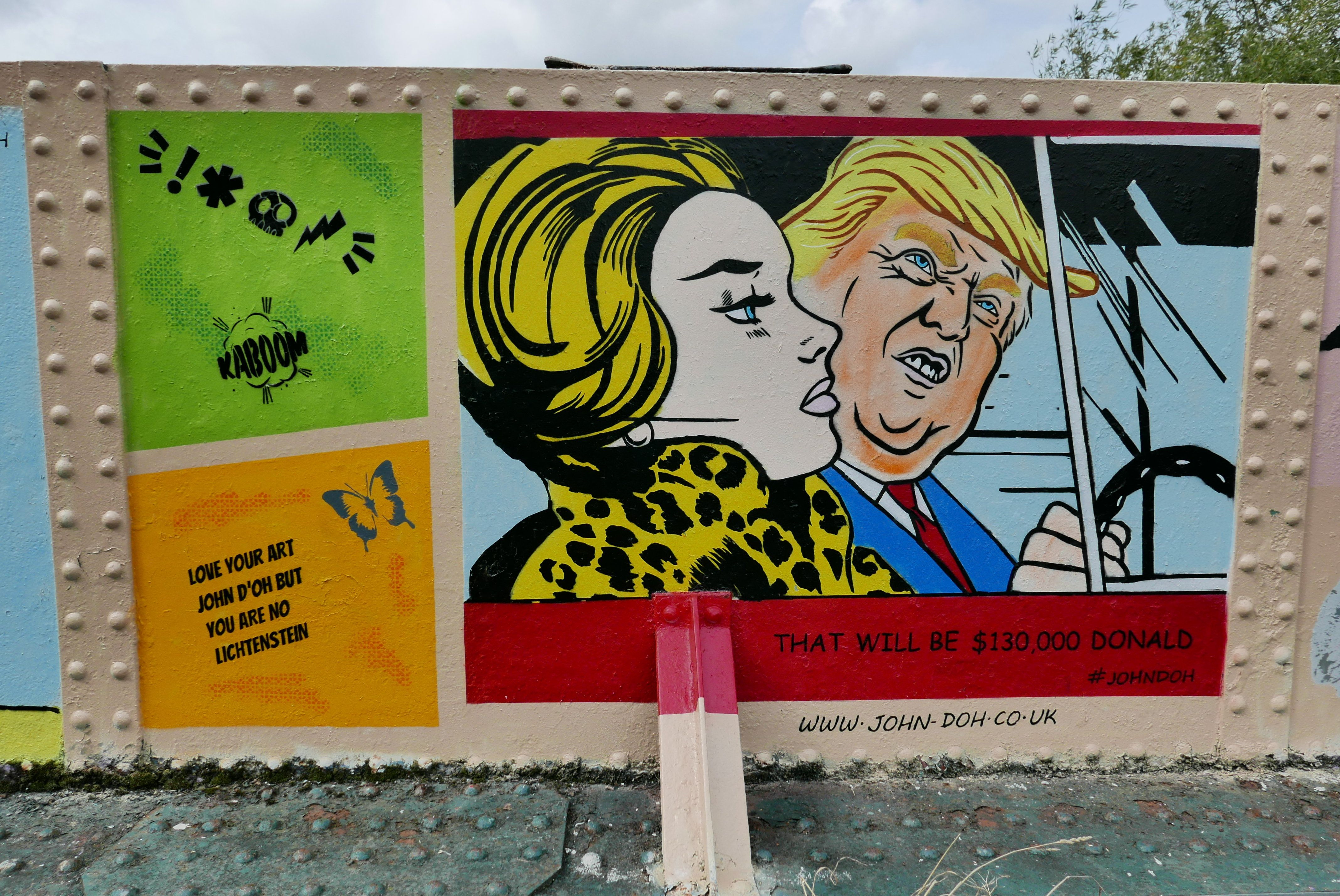 Women's Rights, Environment And Trump Are Focus Of Street Art