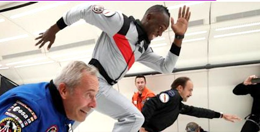 Watch Usain Bolt Race Some Guys In Zero