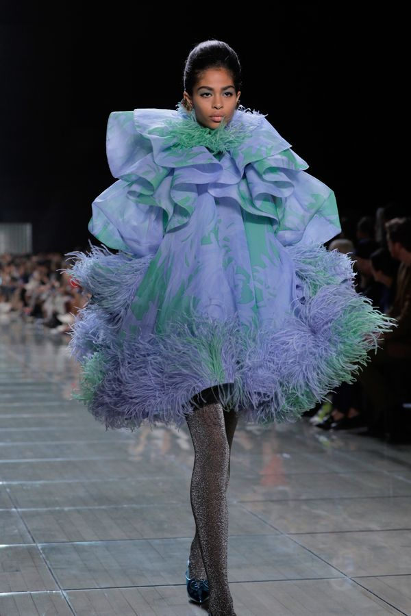 The Marc Jacobs show took ruffles to new heights, or should we say to new volumes?