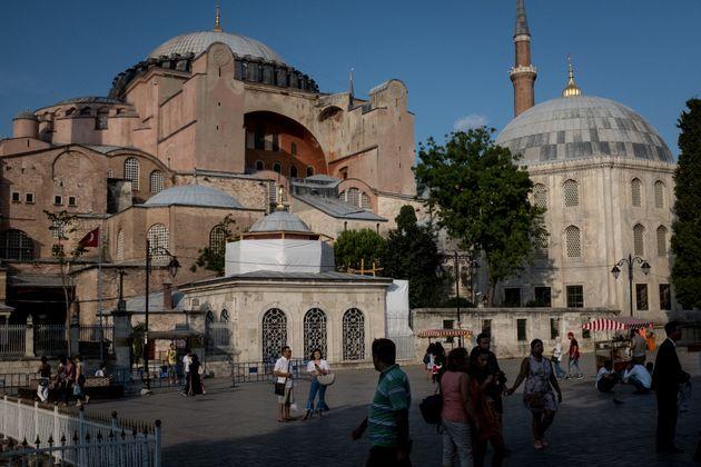 Απορρίφθηκε το αίτημα να γίνει τζαμί η Αγία