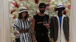 Le couturier tunisien Ayoub Moumen remporte le troisième prix de la E-Fashion Awards à