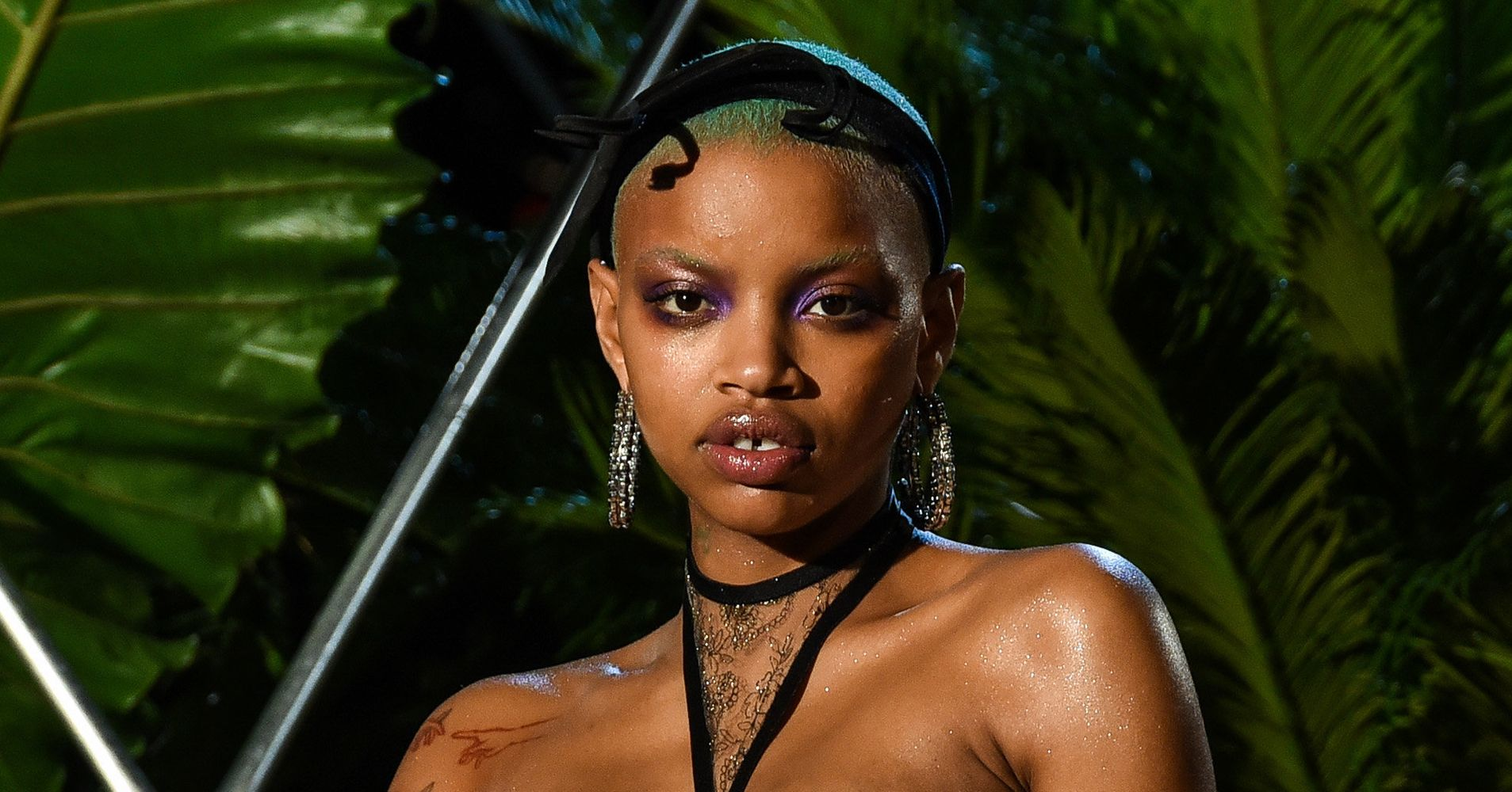 Pregnant Model Slick Woods Owned The Runway At Rihanna's Savage X Fenty Show | HuffPost