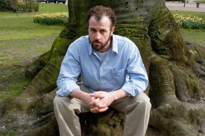 A portrait of James Frey in 2004, pre-scandal.