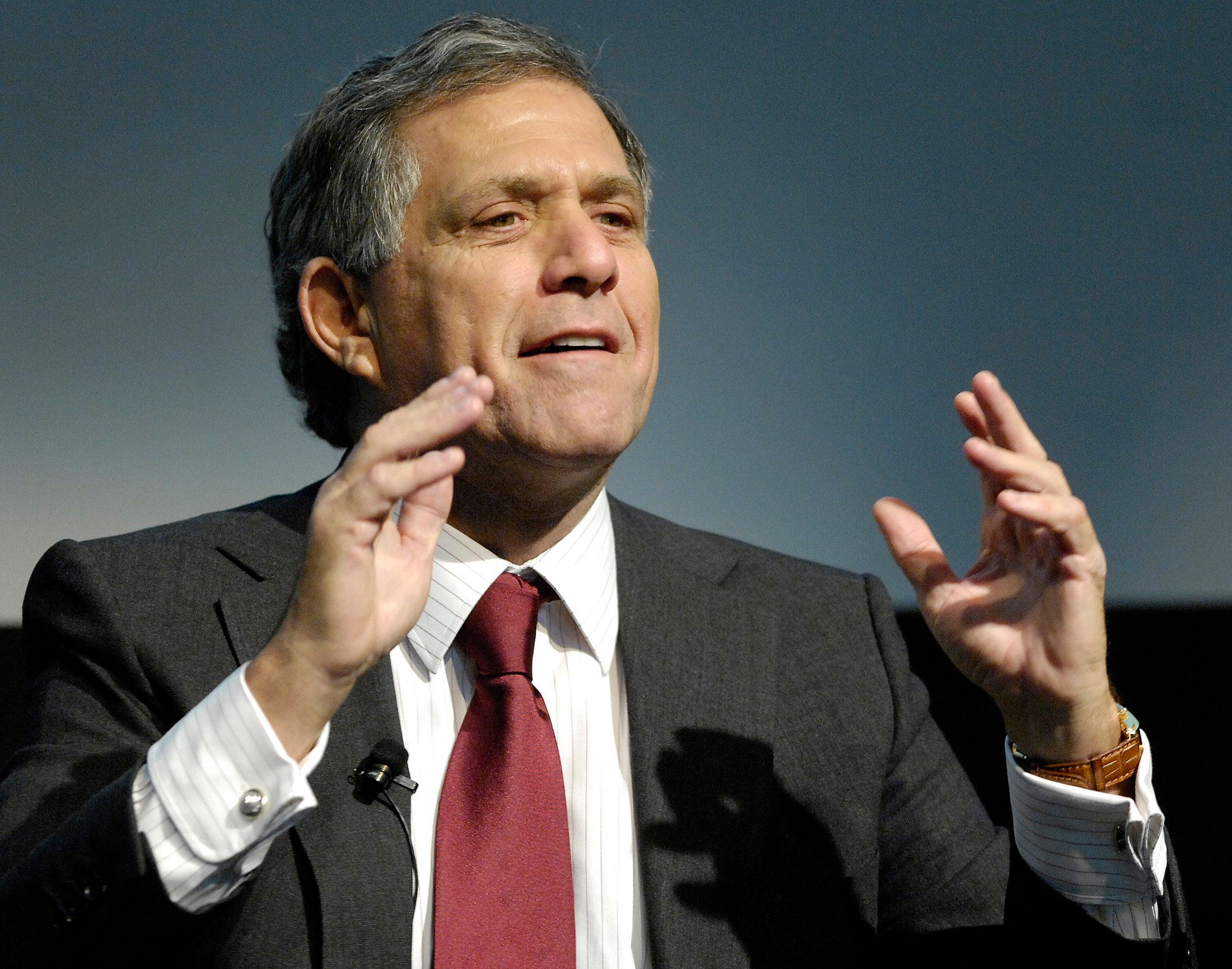 Several women have accused Les Moonves, pictured here in 2007, of harassment, intimidation and abuse.