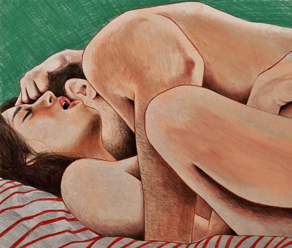 "Castelli calls her style ""eromantic"" -- a mixture of erotic and romantic."