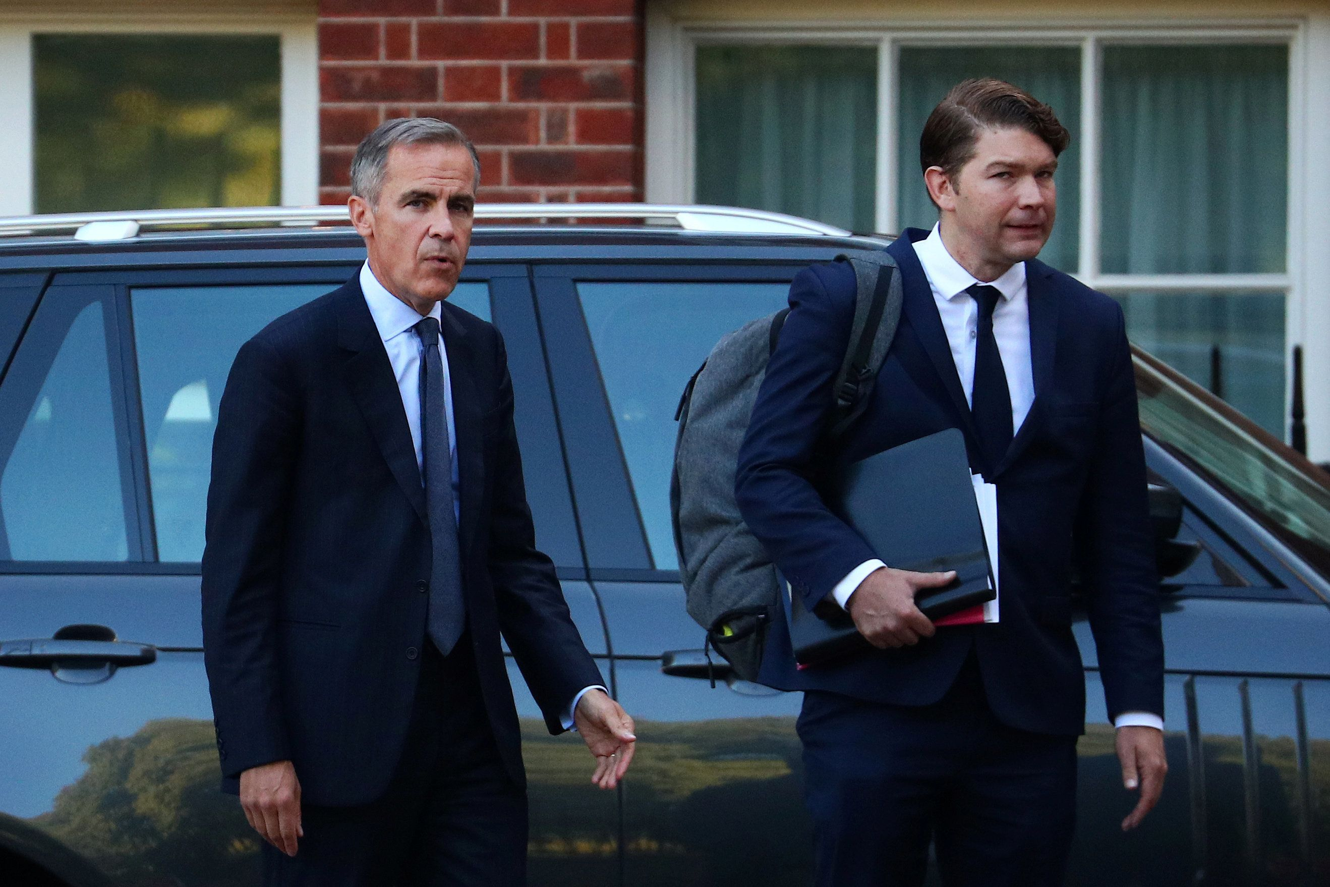 'No Deal' Brexit 'Disaster' Fears As Mark Carney Warns House Prices Could Drop By A