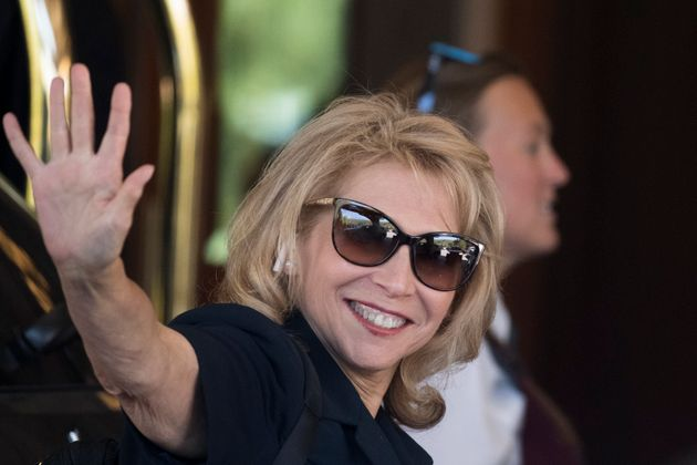 The accusations against Les Moonves gave Shari Redstone, seen here in July, the leverage she needed to...