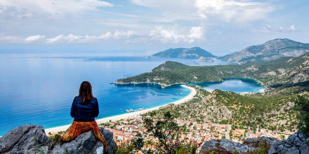 The Lycian road starts from the popular tourist town of Fethiye in the western province of Mugla and ends in the southern province of Antalya s Hisarcandir village