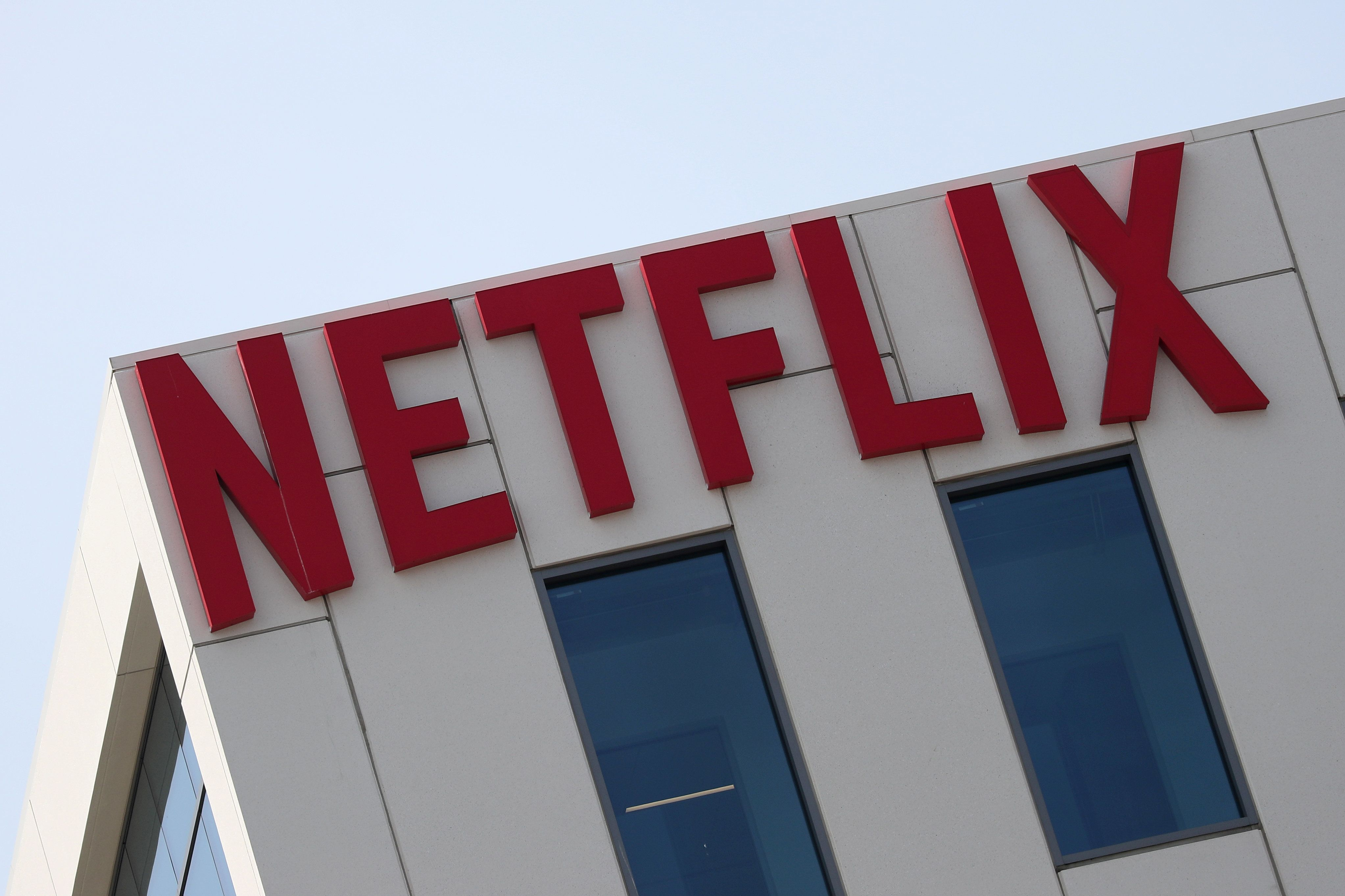 The Netflix logo is seen on their office in Hollywood, Los Angeles, California, U.S. July 16, 2018. REUTERS/Lucy Nicholson