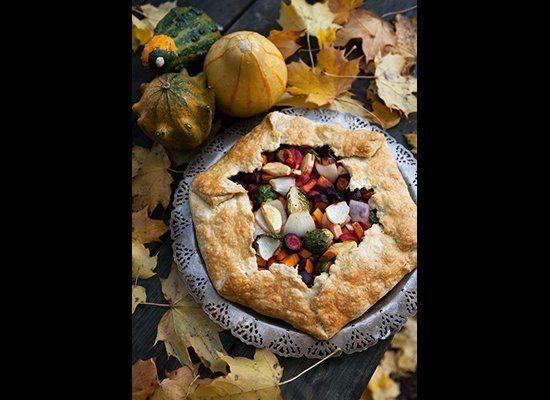 "<strong>Get the <a href=""http://www.raisingjane.org/journal/26156"" target=""_hplink"">Autumn Vegetable Galette recipe</a> by Ra"