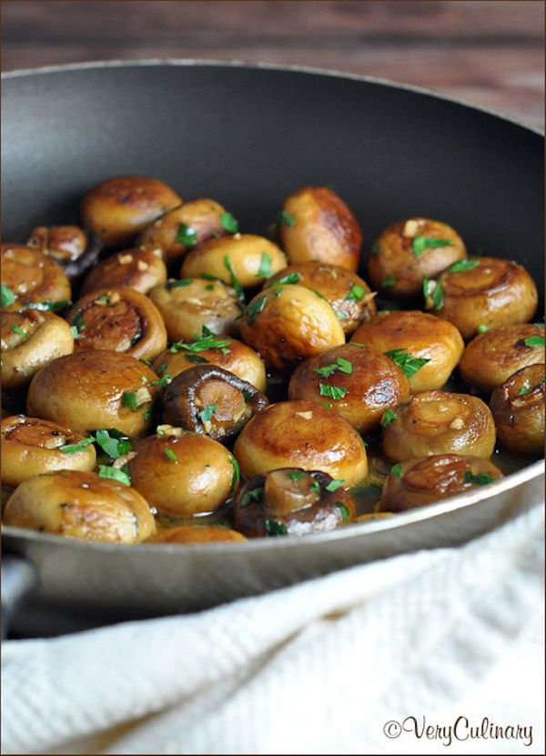 """<strong>Get the <a href=""""http://veryculinary.com/2014/11/13/sauteed-mushrooms-recipe/"""" target=""""_blank""""> Sautéed Mushrooms Wit"""