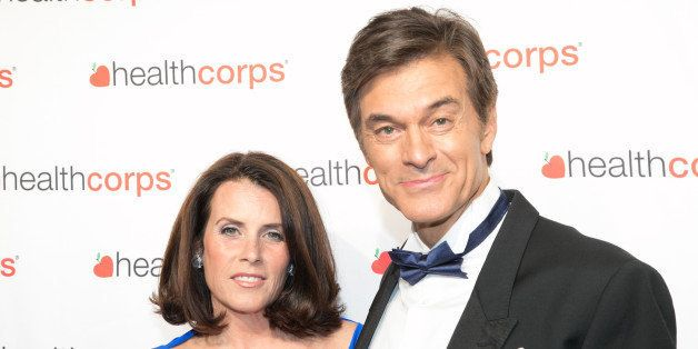 NEW YORK, NY - APRIL 29: Dr. Mehmet Oz and Lisa Oz attend the 9th Annual HealthCorps' Gala at Cipriani Wall Street on April 29, 2015 in New York City. (Photo by Nomi Ellenson/FilmMagic)