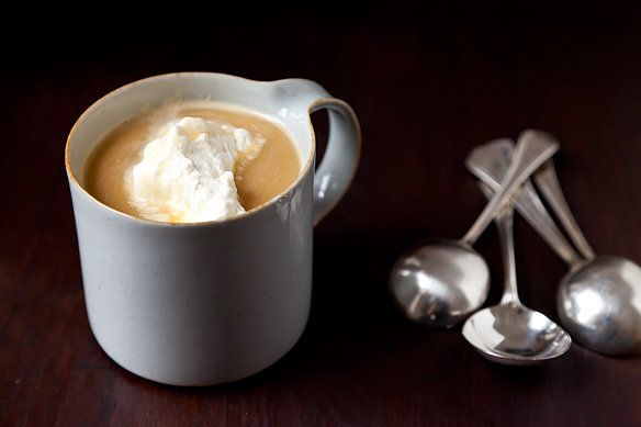 "<strong>Get the <a href=""http://food52.com/recipes/8368-butterbeer"" target=""_blank"">Butterbeer recipe from Food52</a></strong"