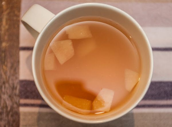 "<strong>Get the <a href=""http://theindolentcook.blogspot.com/2012/07/honey-quince-tea.html"" target=""_blank"">Honey Quince Tea"