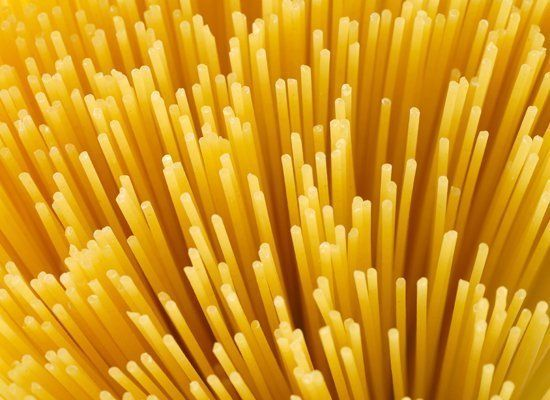 Spaghetti is the most popular pasta shape. These long, thin pastas are adept at holding tomato sauces. Just like spaghetti, b