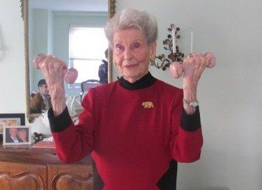 Ruth Kobin: 100 Years Old And Healthy Thanks To Pilates And