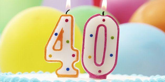 Celebrating milestone birthday