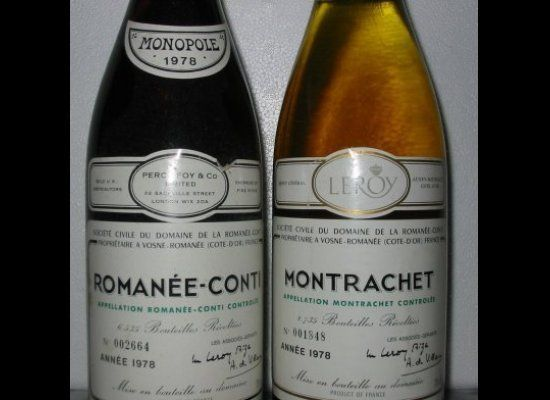 """A collection of seven bottles of white wine from Domaine de la Romanée-Conti sold for almost <a href=""""http://topten.whatitcos"""