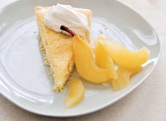 """<strong>Get the <a href=""""http://www.huffingtonpost.com/2011/10/27/buttermilk-cake-with-ries_n_1061044.html"""" target=""""_hplink"""">"""