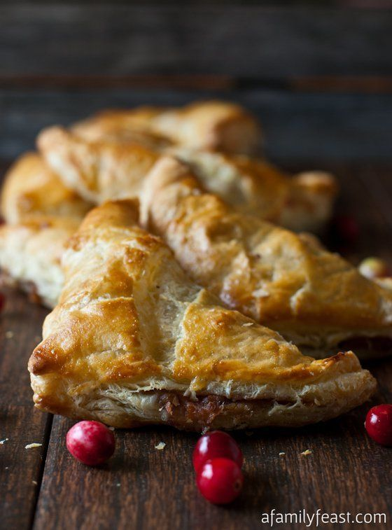 """<strong>Get the <a href=""""http://www.afamilyfeast.com/turkey-stuffing-turnovers/"""" target=""""_blank"""">Turkey And Stuffing Turnover"""