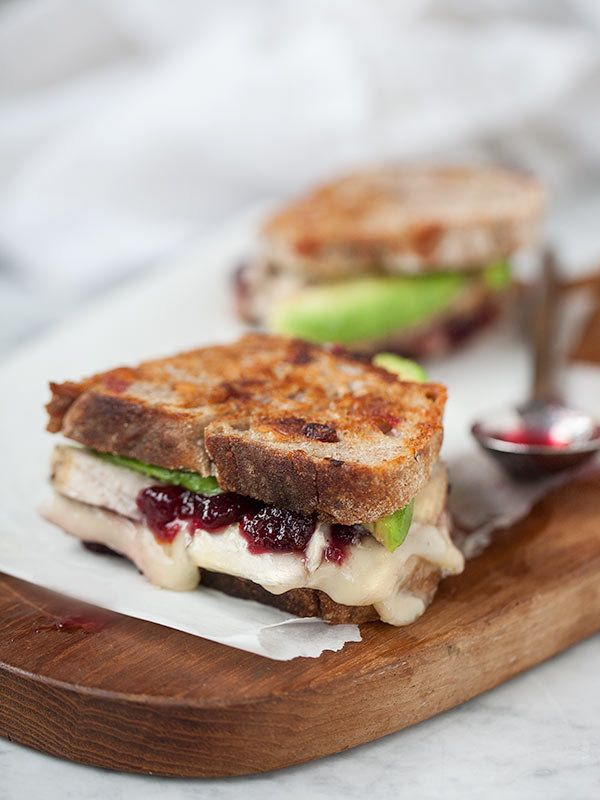 """<strong>Get the <a href=""""http://www.foodiecrush.com/2012/11/turkey-cranberry-brie-grilled-cheese-sandwich/"""" target=""""_blank"""">T"""