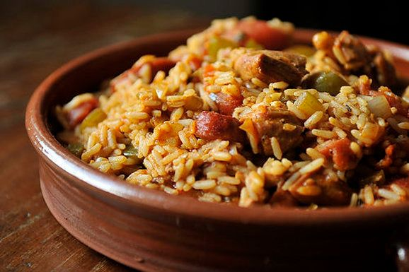 """<strong>Get the <a href=""""http://food52.com/recipes/1963-thankful-for-leftover-turkey-jambalaya"""" target=""""_blank"""">Thankful For"""