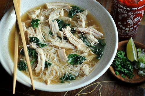 """<strong>Get the <a href=""""http://food52.com/recipes/1919-turkey-pho"""" target=""""_blank"""">Turkey Pho recipe</a> by WinnieAb from Fo"""
