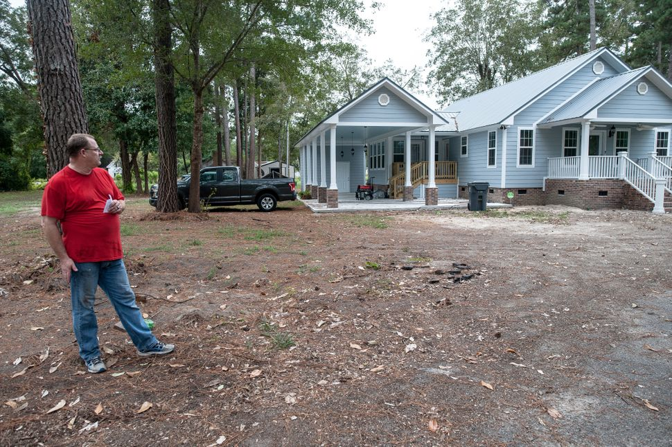 Daryl Pugh and his wife just recently moved into the new home they had built after 2016's Hurricane Matthew caused irreparabl