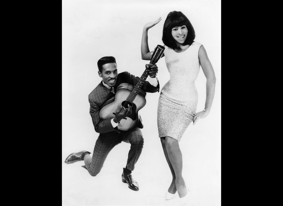 Ike and Tina Turner.  Photo: Charlie Gillett Collection/Redferns