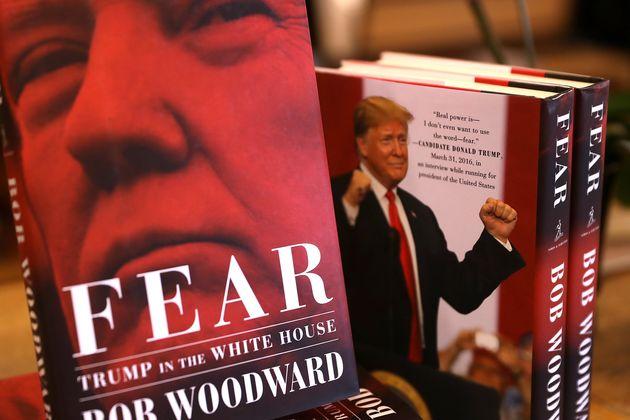 트럼프 정부의 '혼돈'을 기록한 신간 '공포'의 기록적인