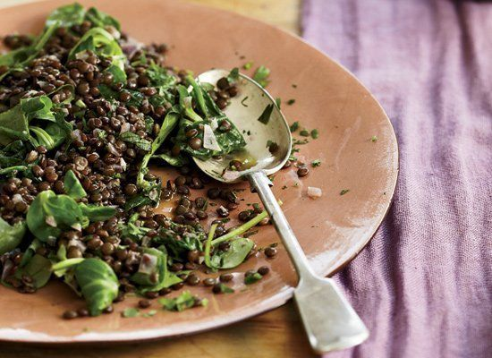 Because of their coin-like appearance, lentils have long been believed to be a food symbolizing wealth and prosperity for the