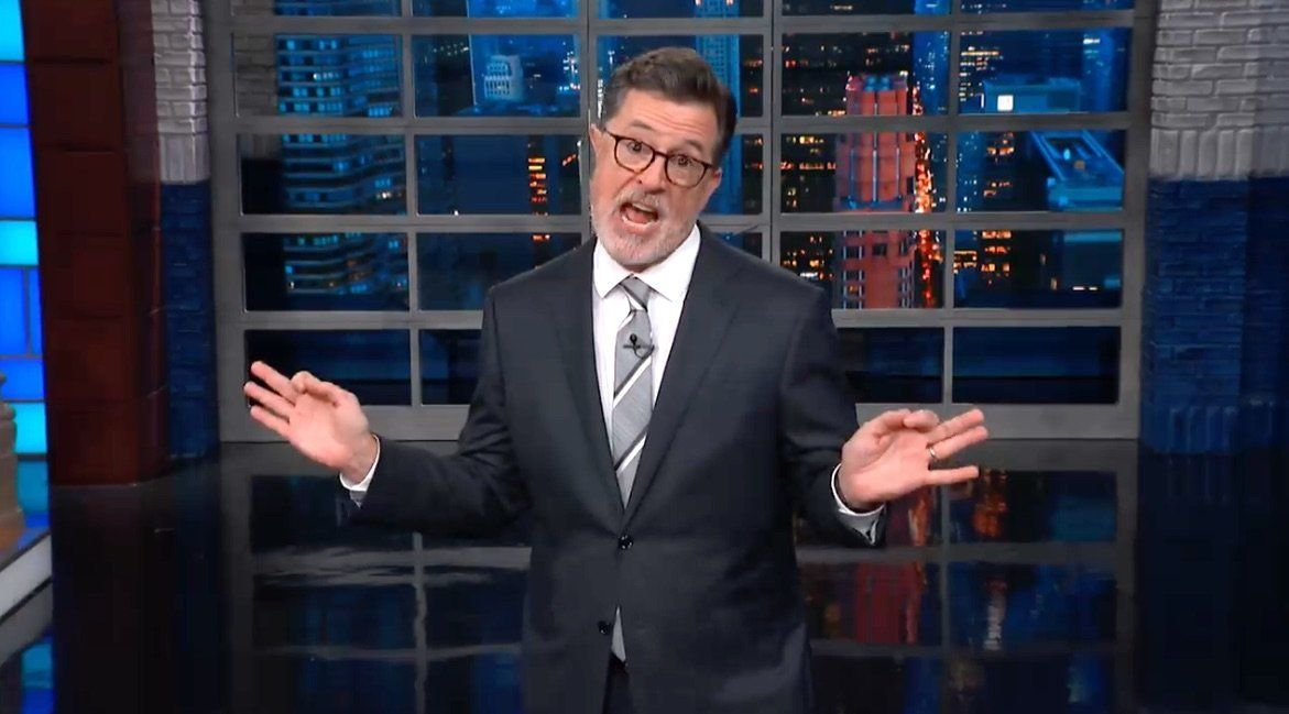 Colbert Audience Loses It Over A 'Sickening' Trump
