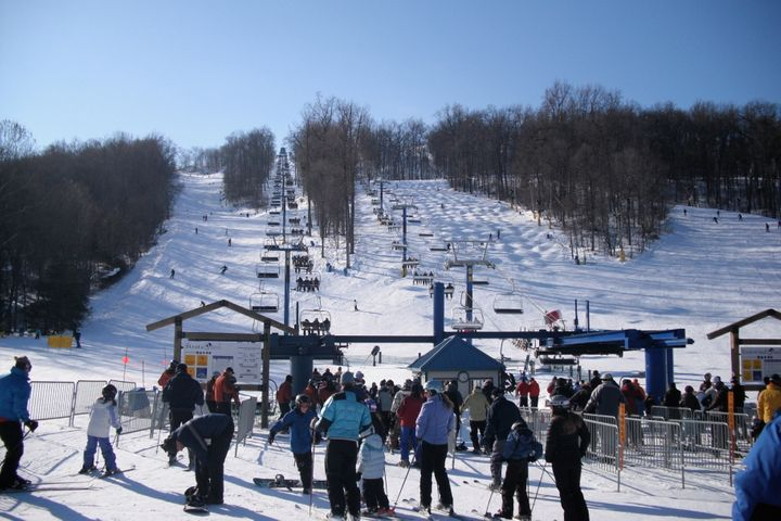 b567893672 Liberty Mountain Resort in Pennsylvania is a popular destination for skiers  and snowboarders. As part of a series on ski resorts