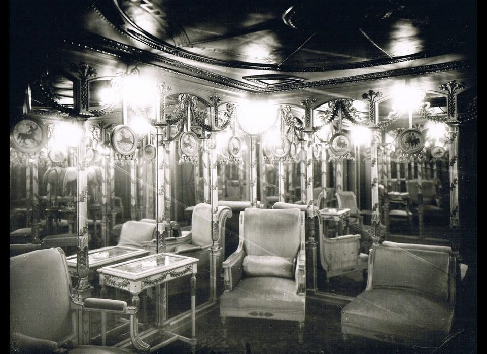 """The legendary Pompeiian Room of Le Chabanais, the most luxurious of all Parisian brothels in the belle époque, the """"beautiful"""