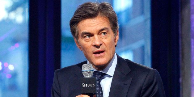 NEW YORK, NY - NOVEMBER 16:  Dr Mehmet Oz  appears to promote 'The Dr Oz Show' during the AOL BUILD Series at AOL Studios In New York on November 16, 2015 in New York City.  (Photo by Donna Ward/FilmMagic)