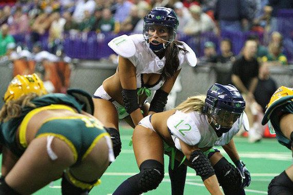 Lingerie Football Youth League: Fun Porn Aesthetics and Male Domination for  Kids! | HuffPost Life