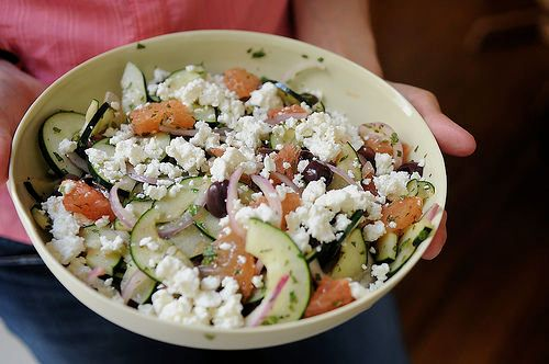 """<strong>Get the <a href=""""http://food52.com/recipes/127-red-grapefruit-feta-and-mint-salad"""" target=""""_blank"""">Red Grapefruit, Fe"""